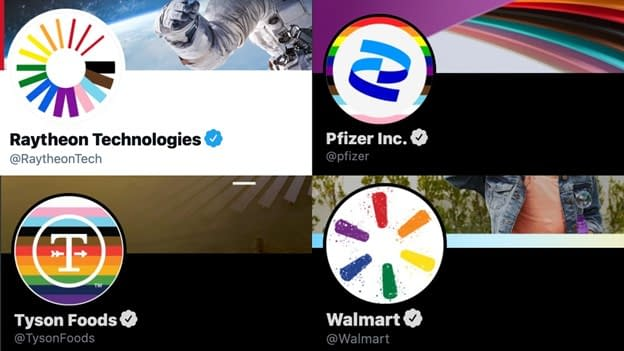Several companies try to promote inclusion for Pride Month by changing their logos.